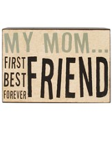 My Mom…First Best Forever Friend Plaque
