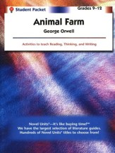 Animal Farm, Novel Units Student Packet, Grades 9-12