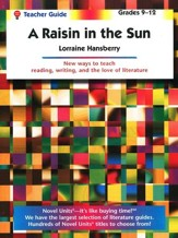 Raisin in the Sun, Novel Units Teacher's Guide, Grades 9-12