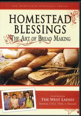 Homestead Blessings: The Art of Bread Making DVD