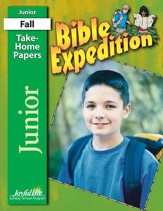 Bible Expedition Junior (Grades 5-6) Take-Home Papers