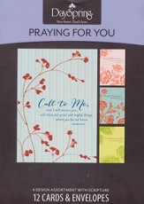 Call to Me, Praying for You Cards, Box of 12