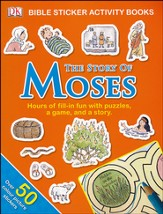 The Story of Moses: Bible Sticker Activity Book