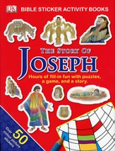 The Story of Joseph: Bible Sticker Activity Book