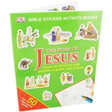The Story of Jesus: Bible Sticker Activity Book