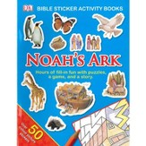 Noah's Ark:  Bible Sticker Activity Book