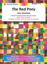 Red Pony, Novel Units Teacher's Guide, Grades 7-8