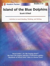 Island of the Blue Dolphins Novel Units S. Packet, Grades 5-6