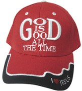 God Is God Cap Red