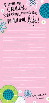 Mom's Night Out Memo Note Pad
