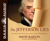 Jefferson Lies: Exposing the Myths You've Always Believed About Thomas Jefferson Audiobook CD