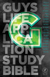 NLT Guys Life Application Study Bible, Hardcover