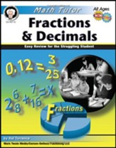 Math Tutor: Fractions and Decimals Grade 4+