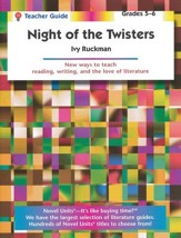 Night of the Twisters, Novel Units Teacher's Guide, Grades 5-6