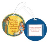 Unto You Is Born This Day Ornament