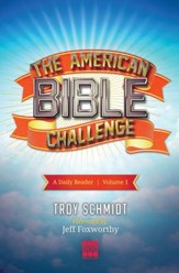 The American Bible Challenge: A Daily Reader Volume 1 - eBook