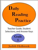 Daily Reading Practice Grade 5 Teacher Guide