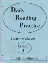 Daily Reading Practice Grade 5 Student Workbook