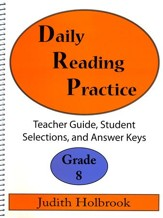 Daily Reading Practice Grade 8 Teacher Guide