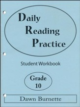 Daily Reading Practice Grade 10 Student Workbook
