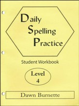 Daily Spelling Practice Level 4 Student Workbook