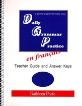 Daily Grammar Practice in French Level 1 Teacher Guide
