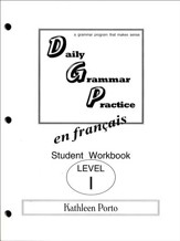 Daily Grammar Practice in French Level 1 Student  Workbook