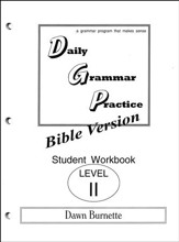 Daily Grammar Practice Bible Version Level 2 Student Workbook