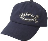 Studded Fish Cap Navy