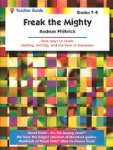 Freak the Mighty Novel Units Teacher's Guide, Grades 7-8