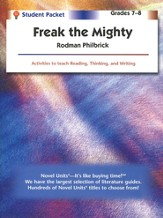 Freak the Mighty, Novel Units Student Packet, Grades 7-8