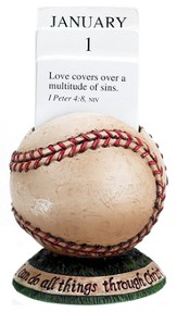 Baseball Scripture Holder Calendar
