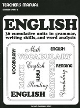 The Kim Marshall English Series: English, Teacher's  Manual, Part B