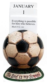 Soccer Scripture Holder Calendar
