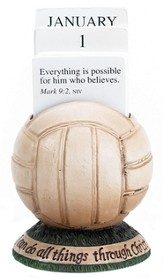 Volleyball Scripture Holder Calendar