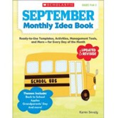 September Monthly Idea Book: Ready-to-Use Templates, Activities, Management Tools, and More - for Every Day of the Month