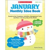 January Monthly Idea Book: Ready-to-Use Templates, Activities, Management Tools, and More - for Every Day of the Month