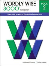 Wordly Wise 3000 Student Book Gr 2, 3rd Edition  - Slightly Imperfect