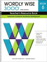 Wordly Wise 3000 Teacher's Resource Bk 6, 3rd Edition  - Slightly Imperfect