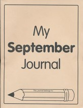 Monthly Journal, September  - Slightly Imperfect