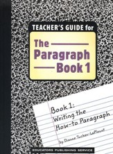 The Paragraph Book 1, Teacher's Guide