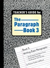 The Paragraph Book 3, Teacher's Guide
