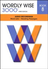 Wordly Wise 3000 Book 8 Audio CD, 3rd Edition