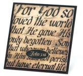 For God So Loved, John 3:16, Magnet
