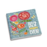 Best Mom Coaster and Greeting Card