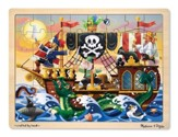 Pirate Adventure Jigsaw Puzzle, 48 pieces