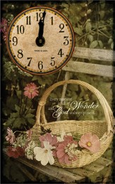 Every Moment Is Full of Wonder Clock