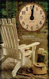 In Quietness and Confidence Clock