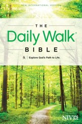 The Daily Walk Bible, NIV Softcover