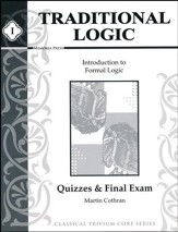 Traditional Logic Quiz and Tests Book 1